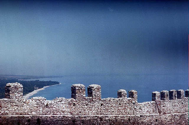 photo taken from byzantine castle panteleimona by chris ioakimedes